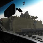The army appears in the streets